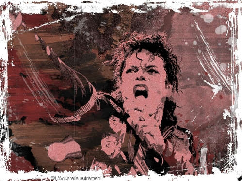 Michael Jackson by aquarelle-autrement